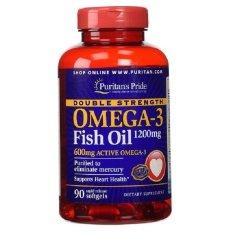 Puritan Pride Double Strength Omega 3 Fish Oil 90 Softgels Diskon Dki Jakarta