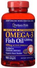 Jual Beli Puritan S Pride Double Strength Omega 3 Fish Oil 1200 Mg 90 Softgel Baru Dki Jakarta