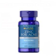 Beli Puritan S Pride Zinc For Acne Mengatasi Jerawat 100 Tablet Cicilan