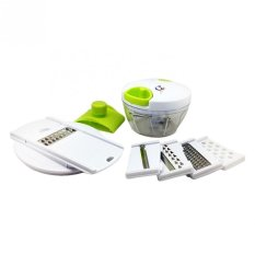 Katalog Q2 Alat Pencacah Serbaguna Bawang Sayuran Lengkap Mixer Manual Mini Cutter Full Set Terbaru