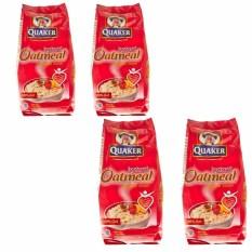 Quaker Oatmeal Instan Merah 200 gr - 4 pcs