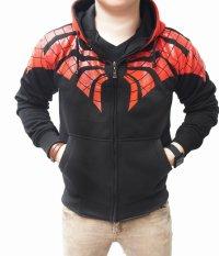 Spesifikasi Quincylabel Spider Web Hoodie Black Paling Bagus
