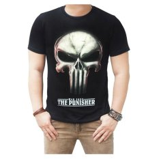Spesifikasi Quincylabel T Shirt War Zone The Punisher Hitam Dan Harga