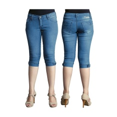 Toko Raindoz Celana Jeans Pendek Wanita Eupherbia Rnu 012 Biru Online Jawa Barat