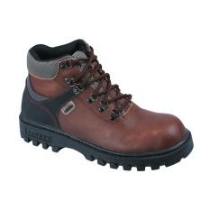 Raindoz Sepatu Safety Sneanger Kulit RLI 012 - Coklat
