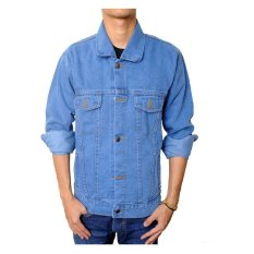 Jual Raja Clothing Jaket Denim Light Biru Murah