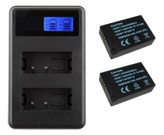Rajawali 2 Battery for Canon LP-E17 + Dual Slot USB Travel Charger for Canon LC-E17
