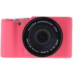 Jual Rajawali Silicone Case For Fujifilm X A2 X A1 X M1 Hot Pink Grosir