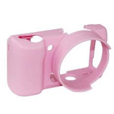 Rajawali Silicone Case for Sony Alpha A5000/A5100 - Pink
