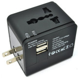 Diskon Rajawali Travel Adapter Charger Usb 3In1 Hitam