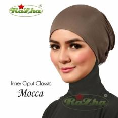 Razha Inner Ciput Classic Daleman Jilbab Mocca