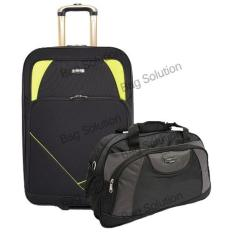 Jual Beli Real Polo Tas Koper Softcase Expandable 2 Roda 585 24 Real Polo Travel Bag 6300 Black Baru Indonesia