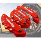 Beli Red 4Pcs Brembo Car Brake Caliper Front Rear 3D Brembo Brake Caliper Covers Case Red Ya010 Sz Yang Bagus