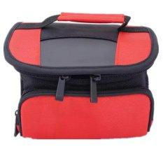 Merah DSLR Kamera Video Tas Bahu Kamera untuk Canon 70D 700D 100D 650D 60D 550D 600D 1100D