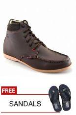 Beli Redknot Bandit Coklat Gratis Sandal Baru