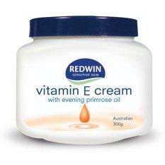 Jual Redwin Vitamin E Cream With Evening Primrose Oil 300Gr Pelembab Kulit Kering Sensitif Day Cream Moisturizing Lengkap