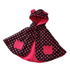 Babycape Selimut Jaket Bayi Dotpink By Bibbo Babywear Indonesia Diskon
