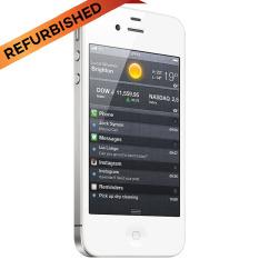 Refurbished Apple Iphone 4S 16Gb Putih Grade A Apple Diskon