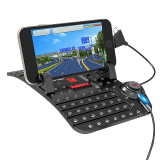 Ulasan Remax Car Holder With Charging Usb Cable Multifungsi Mount Mobil Black