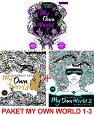 Renebook - Paket My Own World: Coloring Book for Adults (Travel Size) 1-3