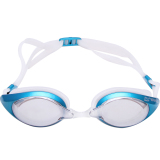 Jual Revo Mirror Race Swim Goggle Anti Fog Uv400 Kacamata Renang Biru Oem Original