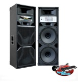 Obral Roadmaster Speaker Aktif Double 15 Inch Kd Pro 215 Mix Usb Hitam Murah