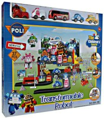 Robocar Poly - Track Set - Mobil Mobilan Anak Murah