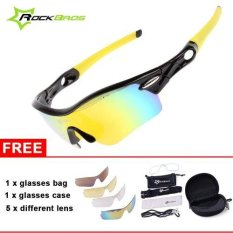 Spesifikasi Rockbros Kacamata Sepeda Polarized Cycling Mtb Driving Fishing Glasses Outdoor Sports Sunglasses Merk Rockbros