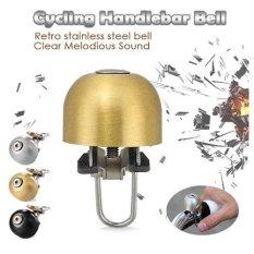 Rockbros Klakson - Bicycle Cycling Bell Metal Horn Ring Safety Sound Alarm Handlebar - Gold
