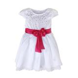 Harga Rorychen Bayi Anak Anak Gadis Rhinestone Bridesmaid Gaun Dengan Ikatan Simpul Pink Rorychen Original