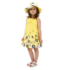 Harga Rorychen Anak Anak Gadis Anak Tanpa Lengan Musim Panas Bunga Gaun Rorychen