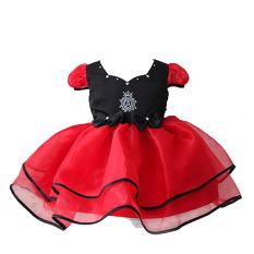 Rorychen Anak Anak Perempuan Bahu Pesta Dress Tulle Double Ruffled Rorychen Diskon 50