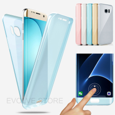 Katalog Roybens 360 Degree Full Body Protect Soft Tpu Case Depan Belakang Cover Untuk Samsung Galaxy S7 Edge Blue Intl Roybens Terbaru
