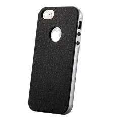 Roybens Aman Kejutan For Bumper Karet Keras Case For IPhone 5/5 S (Perak