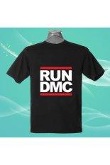 Beli Run Dmc Retro Rev 100 Cotton O Neck Camiseta Unisex Lengan Pendek T Shirt