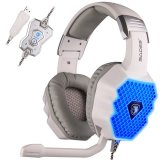 Beli Sades A70 7 1 Surround Sound Stereo Usb Gaming Headset White Online Terpercaya