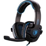 Harga Sades Sa 901 Wolfgang Headset Gaming Biru New
