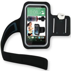 Sakura Armband Smartphone untuk Lenovo Vibe Shot Z90 - Hitam