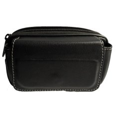 Sakura Wallet Case Smartphone untuk Oppo Neo 3 R831K - Hitam