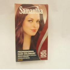 Samantha Profesioanal Hair Colorant Chocolate Brown