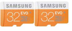 Jual Samsung 32Gb 2Pcs Package Microsdhc Evo Class 10 Oranye Putih Online