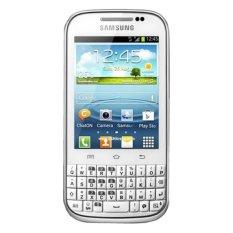 Harga Samsung B5330 Galaxy Chat Putih Branded