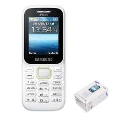 Samsung Handphone Guru Music 2 Double Sim Card B310E Putih Promo Beli 1 Gratis 1