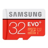 Samsung Microsdhc Evo Plus Class 10 Uhs 1 80Mb S 32Gb With Sd Adapter Mb Mc32Da Diskon Indonesia