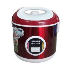 Sanken Rice Cooker SJ 3000 - 2 Liter - Merah