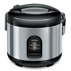 Sanken SJ-150 SP Magic Com- 1.2 Liter - Hitam/Stainless