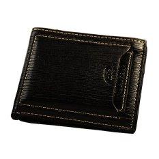 Sanwood Men Leather Purse - Hitam