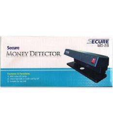Harga Secure Money Detector Alat Pendeteksi Uang Md 28 Branded