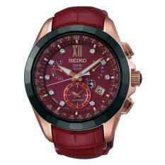 Jual Seiko Astron Gps Dual Time Limited Edition With Diamonds Sbxb080 Jam Tangan Pria Merah Antik