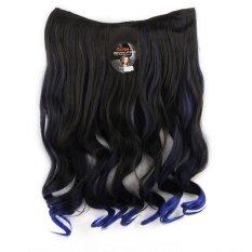 Seven 7 Revolution Hairclip Ombre Curly No 12 - Hair Clip Klip Korea
